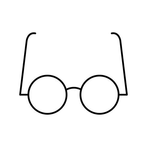 Gafas experimentales Vector icono