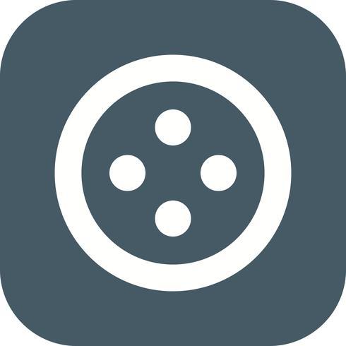 Icône de vecteur de bouton