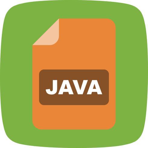 icône de vecteur java
