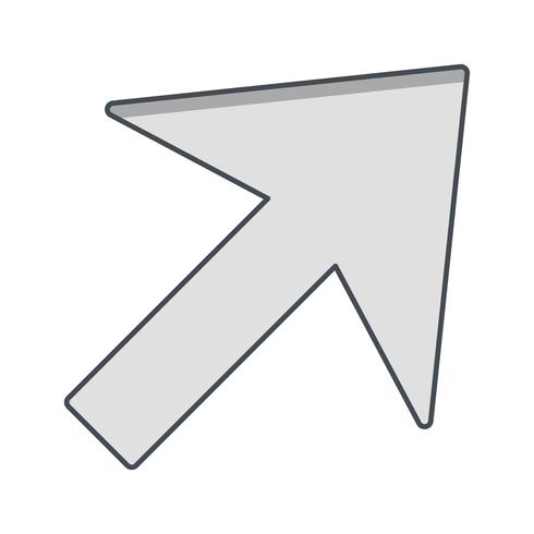 Ícone de vetor de cursor