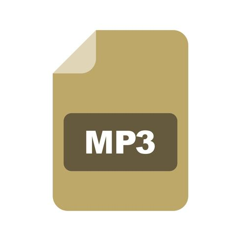 mp3 vektorikonen