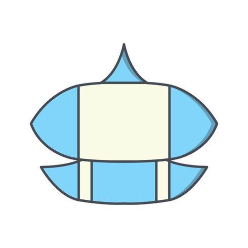 Vlieger Vector Icon
