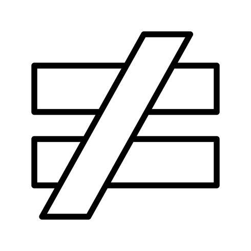 icona di vettore di notaqualto