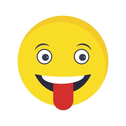 Langue Emoji Vector Icon
