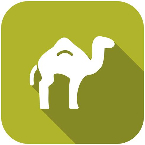 Kamel-Vektor-Symbol