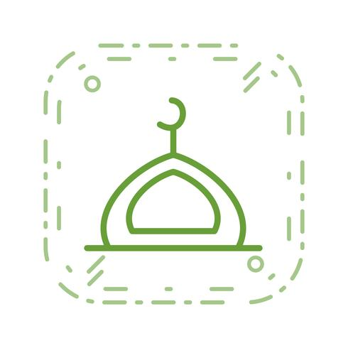 Moskee Vector Icon