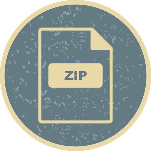 Icône de vecteur ZIP