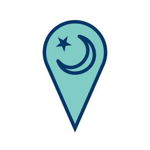 icône de vecteur de minaret