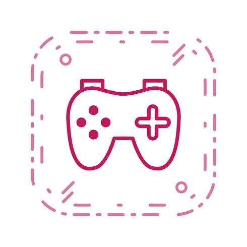 Ícone de vetor de videogame