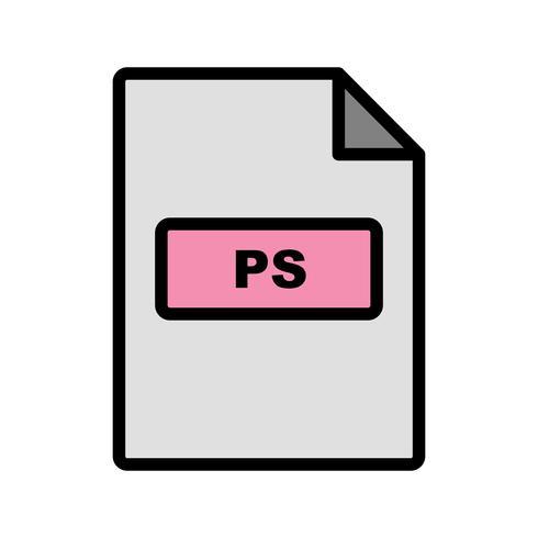 ps vector pictogram