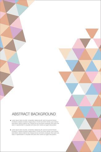 Abstracte geometrisch ontwerpmalplaatje als achtergrond
