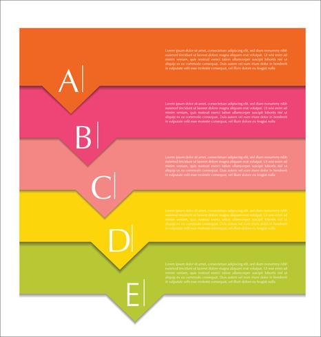 Modern ontwerp abstracte sjabloon