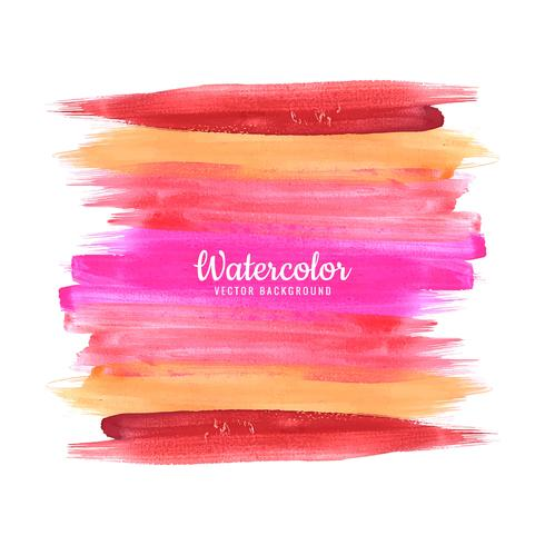 Modern Watercolor Brush Stroke Background vector