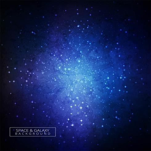 Galaxy dans l'espace beauté de l'univers fond coloré