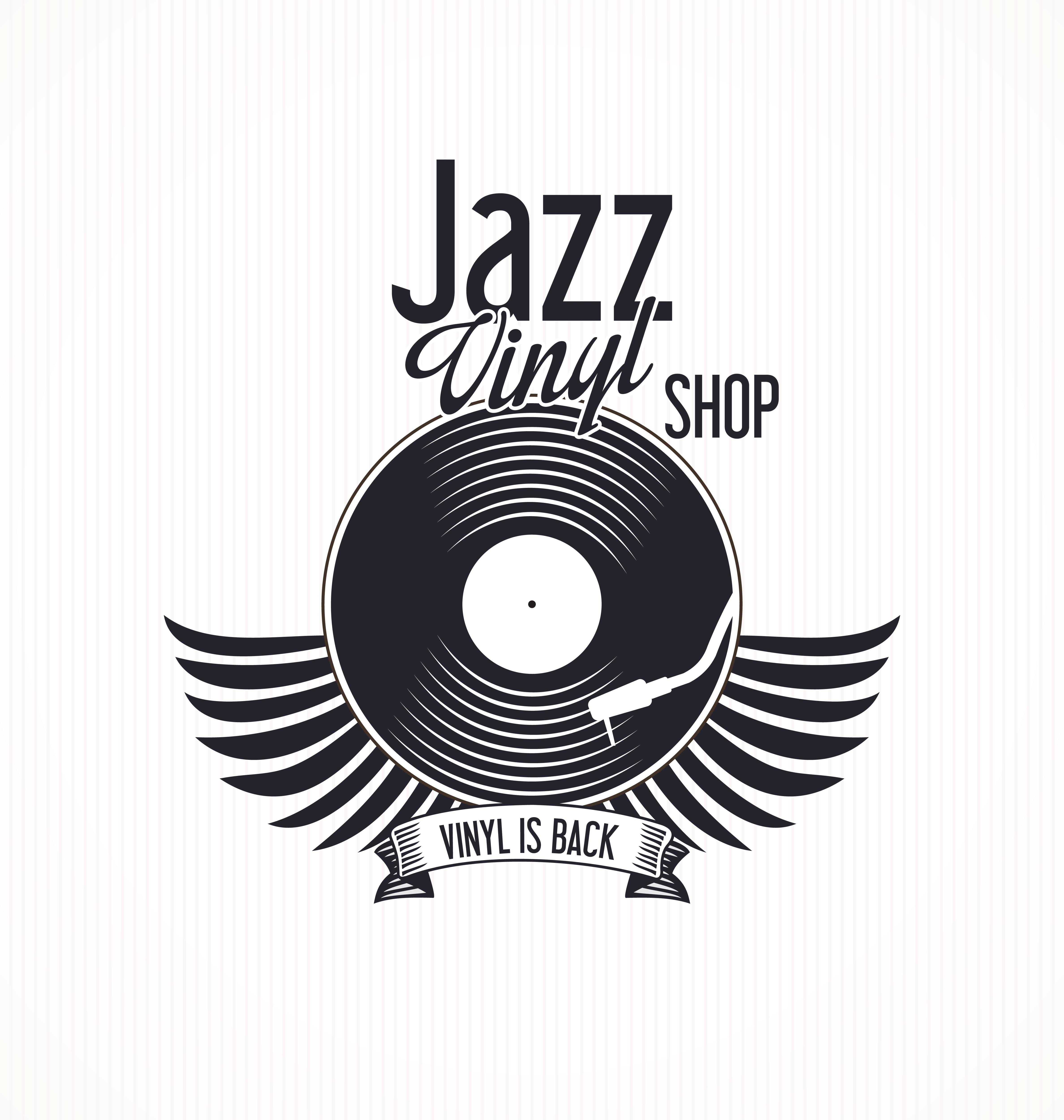 Jazz Vinyl Record Retro Background Download Free Vectors