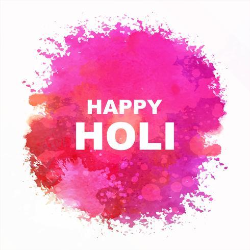 Indian festival Happy Holi-vieringen met kleuren vector