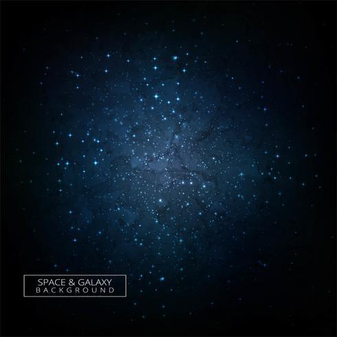 Fondo colorido del concepto del universo de la galaxia del espacio profundo vector