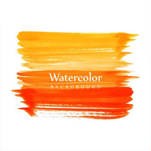 Beautiful watercolor colorful strokes background vector