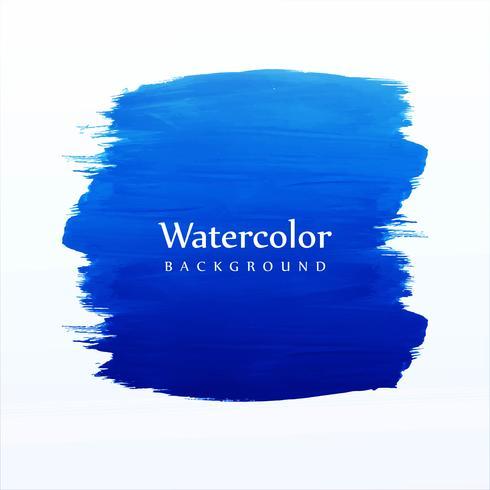 Zachte hand tekenen aquarel borstel vector