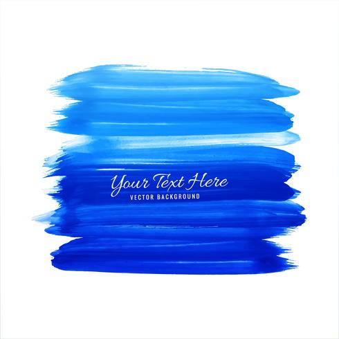 Abstract Watercolor Strokes On White Background vector