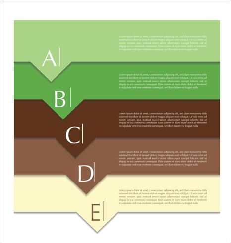 Modelo abstrato de design moderno vetor