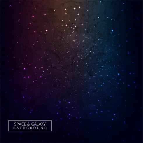 Universo splendente sfondo colorato galassia