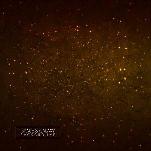 Universo brillante colorido fondo galaxia vector