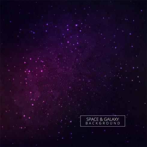 Conception colorée de fond de galaxie vecteur