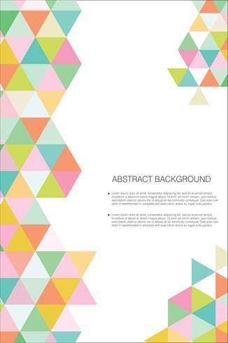 Plantilla de diseño moderno abstracto