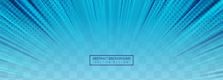 Abstracte blauwe stralen transparante achtergrond