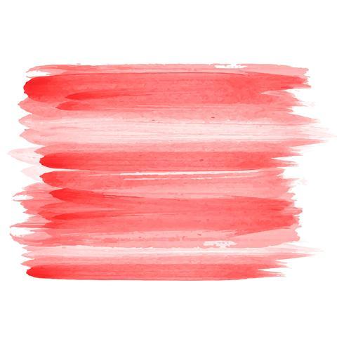 Desenho de traços de aquarela abstrata vetor