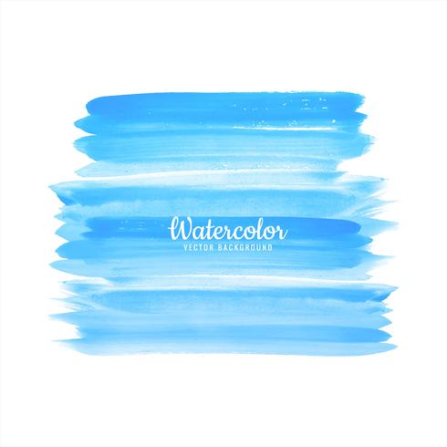 Soft hand draw watercolor brush vector