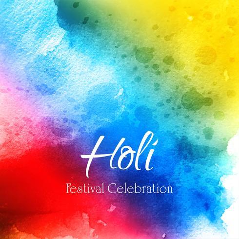 Kleurrijke Holi viert festivalachtergrond