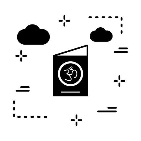 ícone de cartão de vetor