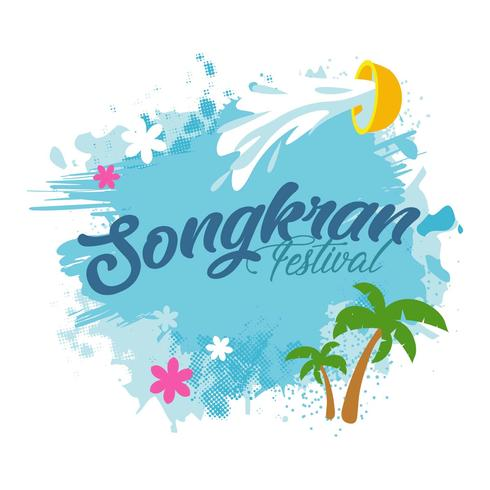 Songkran Bakgrund