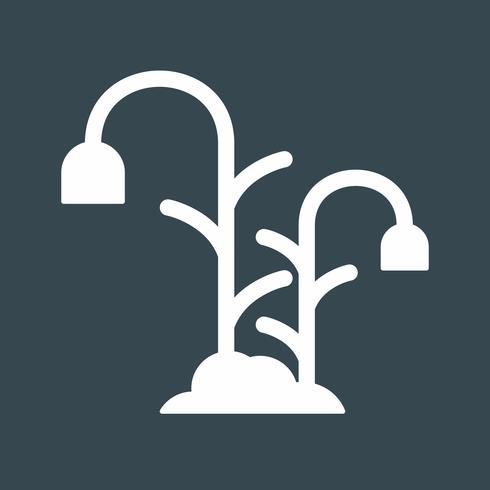 icône de plante fleur vecteur