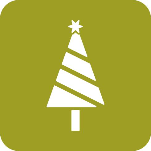 icono de árbol vector
