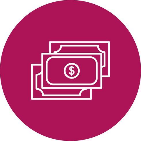 Ícone de moeda do vetor