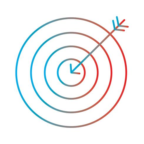 Ligne gradient icône parfaite vecteur ou illustration de pigtogramme