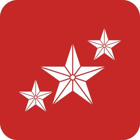icono estrella del vector