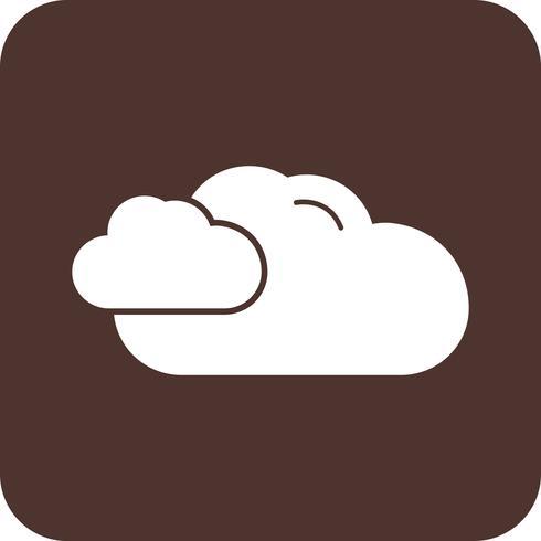 icône de nuage de vecteur