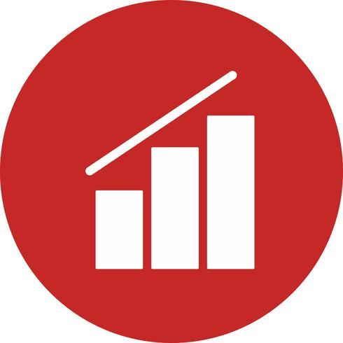icona del grafico vettoriale