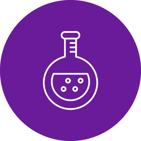Icona di chimica vettoriale