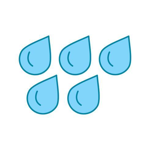 icono de gotas de agua de vector