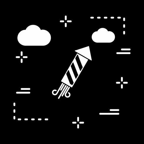 icône de feux d'artifice de vecteur