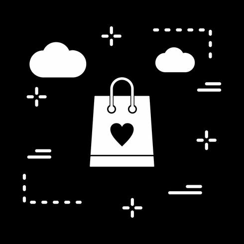 vector boodschappentas pictogram