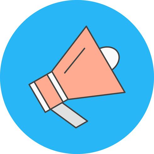 icona dell'altoparlante di vettore