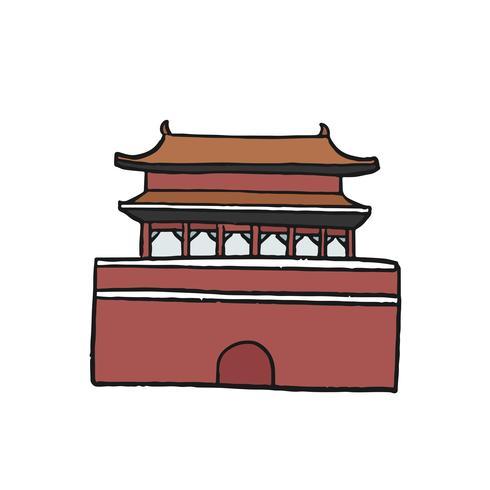 La Città Proibita o l'illustrazione del Museo del Palazzo