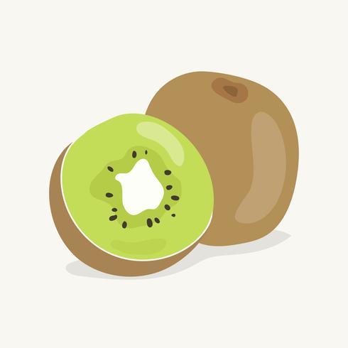 Illustrazione disegnata a mano di kiwi