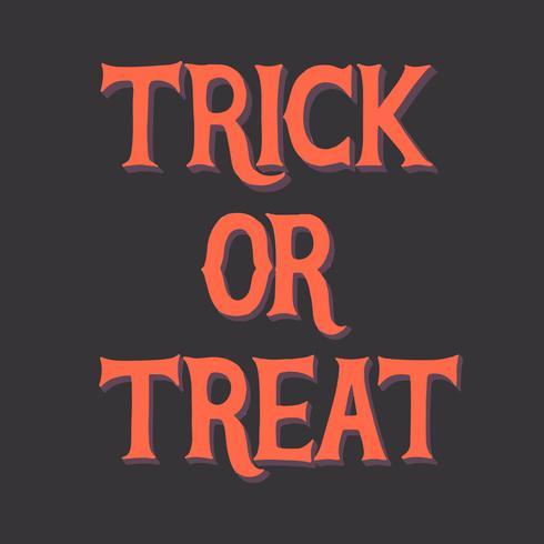 Doces ou travessuras Halloween gráfico